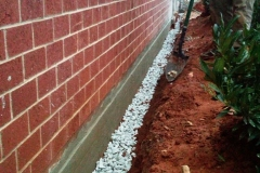 External Drain at Fairview Baptist Church