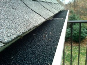 Roof on home with Shingles